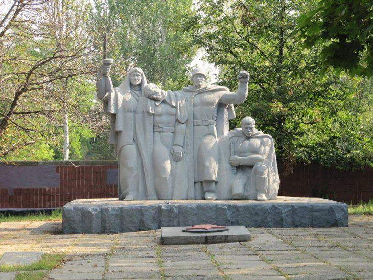 памятников героям Великой Войны
