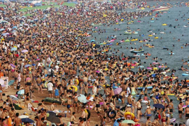 Загруженность пляжей