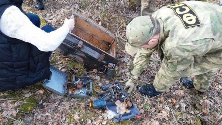 500 кг взрывчатки обнаружено