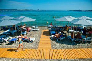Количество пляжей в Геленджике