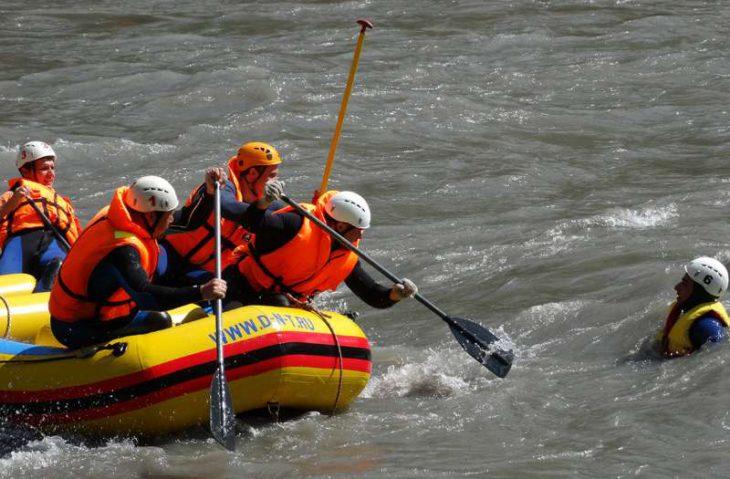 Соревнования спасателей на Кубани