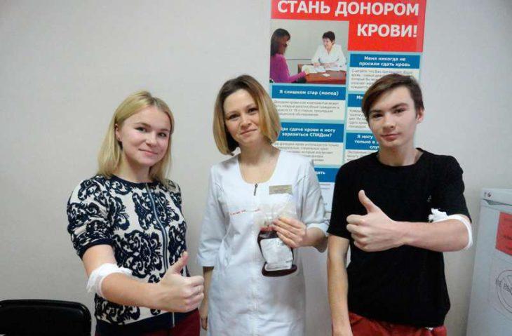 Банк крови Геленджика пополнился новыми «вкладами»