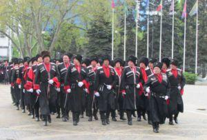 Парад казачьего войска