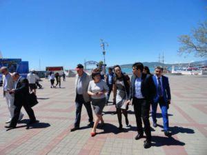 Геленджик встречает гостей из Аргентины