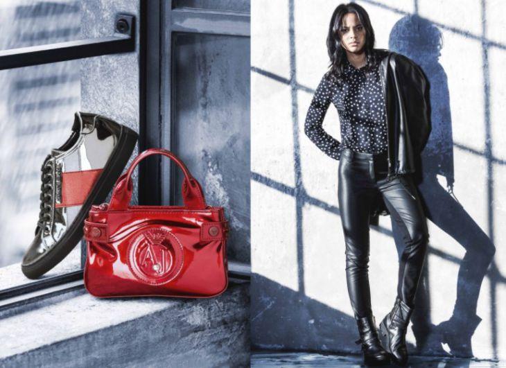 Брендовая обувь и сумки Armani Jeans – история и приимущества
