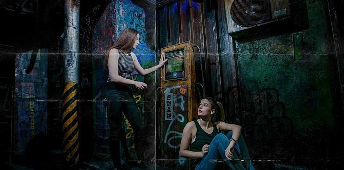 Живые квесты и перфомансы с участием актеров