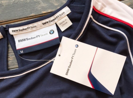 Одежда с принтами BMW